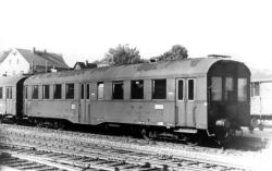 Altenberger Wagen auf dem Bf. Altenberg (Erzgeb) im September 1964